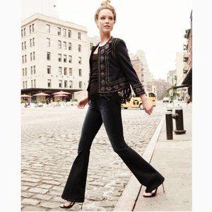 Frame Denim Le High Flare Leg Jeans in Moxon